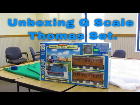 Unboxing & Running Bachmann G Scale Thomas