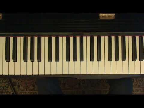Piano e canto: come accompagnarsi per cantare (parte 26)