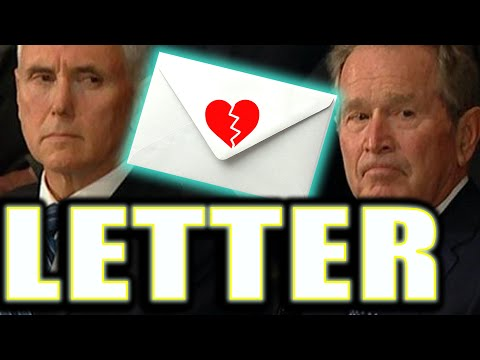 ATTN! Pence Got A Letter! Bush Funeral LIES in State: TALL TALES & MSG Revealed! C-A-V-U Mike Pe
