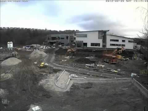 Kirklees College New Engineering Centre - Complete Timelapse