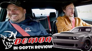The $100,000 Dodge Demon is INSANE! (Reactions, Driving, & In Depth Review)