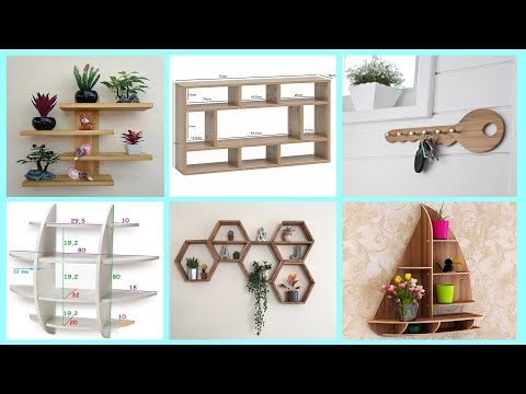 100+ Creative Wall Shelves/Mount Ideas – DIY Home Decoration 🌙🌙🌙