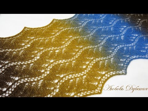 Палантин Китайское кружево. Мастер класс.  Palatine Chinese lace. Master Class.