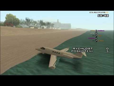 GTA SAMP - Water Madness with Vehicles