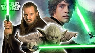 What You Should KNOW About GREEN Lightsabers - Star Wars Explained