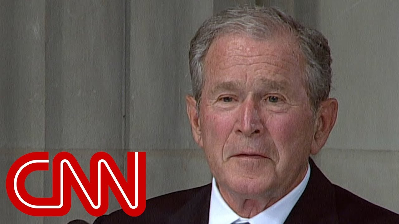 George W Bush Mccain Loved Freedom With The Passion Of A Man Who