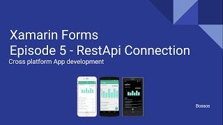 Video Xamarin Tutorial Episode 5 - RestApi Connection download MP3, 3GP, MP4, WEBM, AVI, FLV Mei 2018