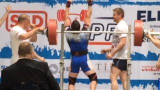 668lb World Record Squat at 93kg by Layne Norton