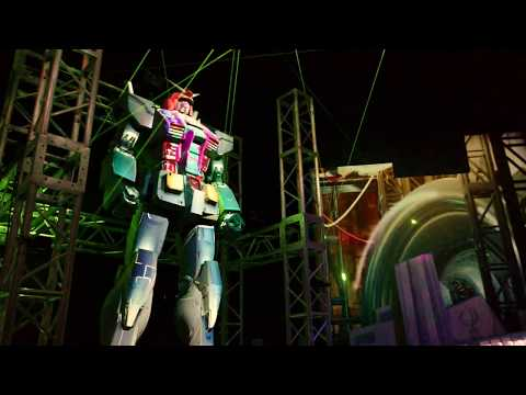 Odaiba's Gundam statue at Gallery AaMo's 'Tokyo Art City by Naked' [RAW VIDEO]