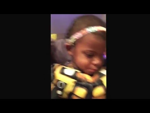 3 yr old Saliou's cochlear progress compilation: 1 month post CI
