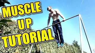 MUSCLE UP Tutorial COMPLETE Guide Exercises