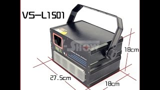1W RGB Animation Laser Light