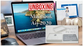 UNBOXING: 2020 MacBook Air | What's NEW with the 2020 MacBook Air | Why is it a new TOP CHOICE 👌🏼