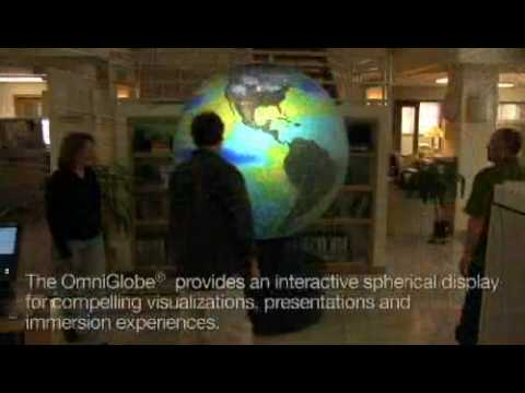 OmniGlobe Spherical Display System