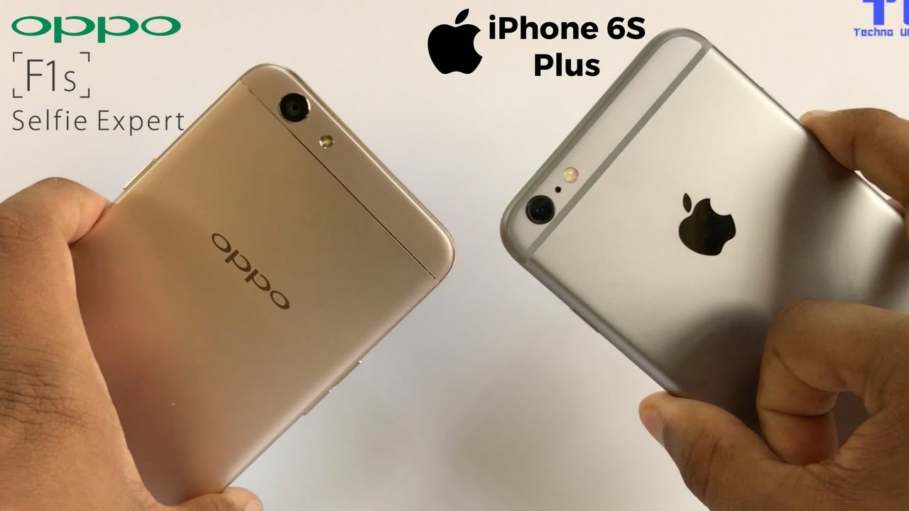 oppo f1s vs iphone 6s plus everything you need to know. Black Bedroom Furniture Sets. Home Design Ideas