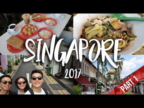 SINGAPORE | TRAVEL VLOG 2017 [PART 1]