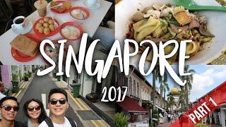 SINGAPORE   TRAVEL VLOG 2017 [PART 1]
