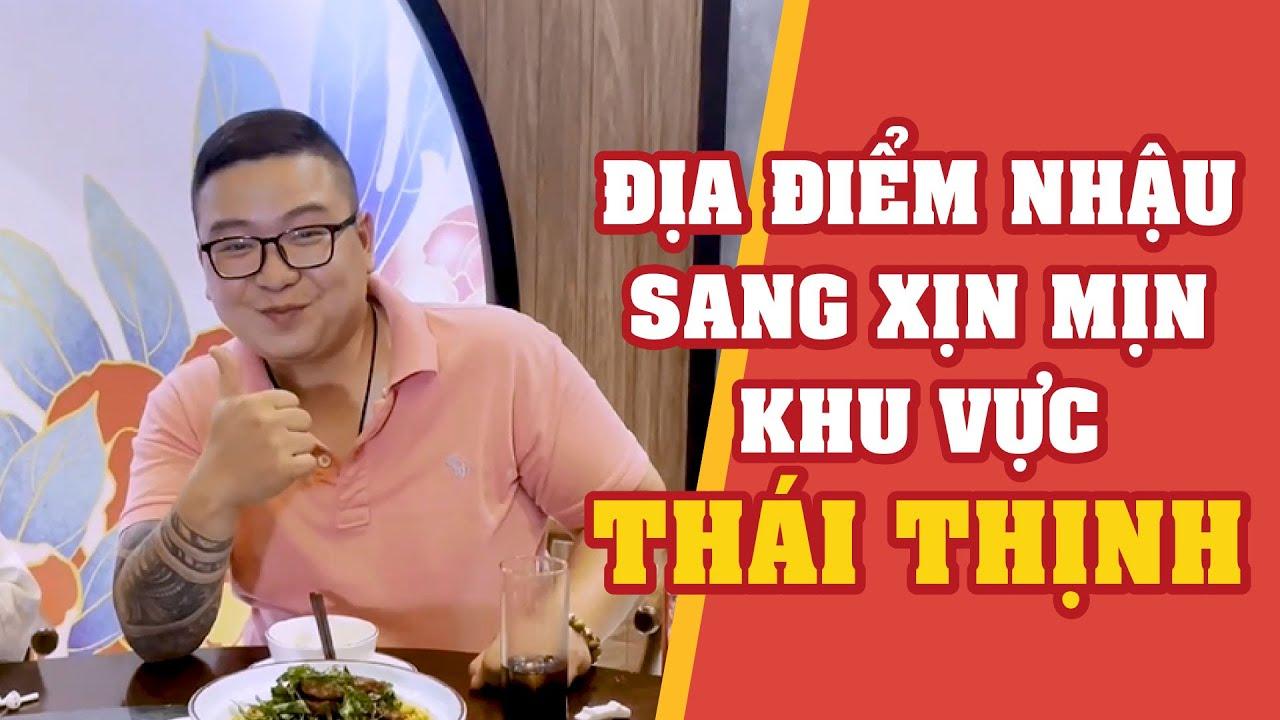 Địa điểm nhậu Sang - Xịn - Mịn khu vực Thái Thịnh   Bếp Trưởng Review   #shorts