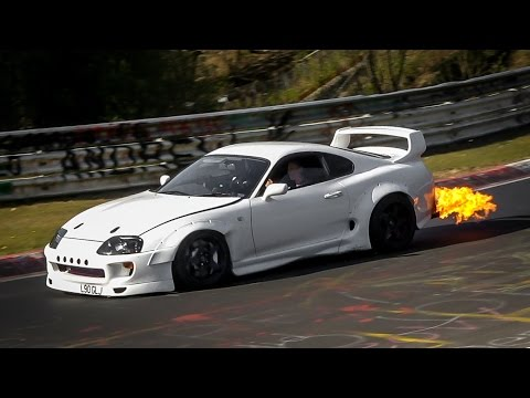 Nordschleife 30 04 2017 - Highlights, BIG FLAMES! Crash & Drifts - Touristenfahrten Nürburgring