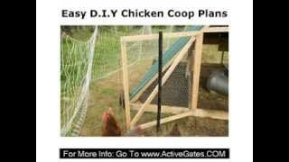Easy Diy Chicken Coop Plans - How To Build Chicken Coop Kit