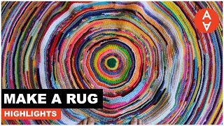 Make a Rug Highlights | The Art Assignment | PBS Digital Studios