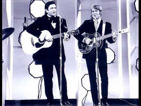 Johnny Cash feat. Glen Campbell -  Gentle On My Mind