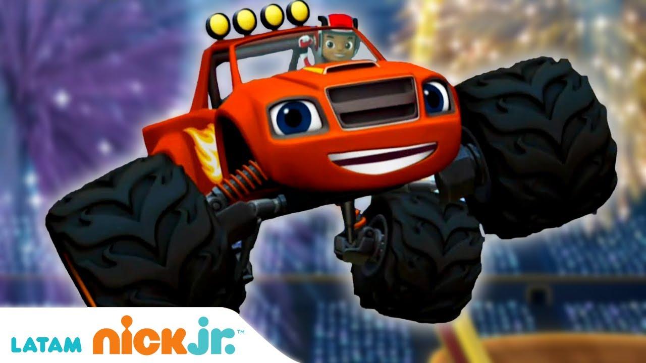Download Blaze and the Monster Machines   Aprendiendo con Blaze - parte 2 🎓    Nick Jr.