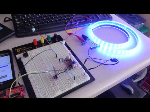 Phone Controlled Mood Lighting -Use Arduino for