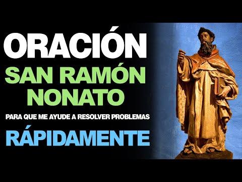 🙏 Oración a San Ramón Nonato PARA RESOLVER PROBLEMAS RÁPIDAMENTE 🙇️