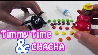 "Mainan Anak ❤ Asiknya bermain Timmy Time ""Shaun The Sheep"" dan Chacha Chocolate"