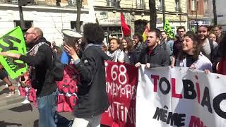 Manifestation des cheminots et du secteur de la santé (13 avril 2018, Paris)