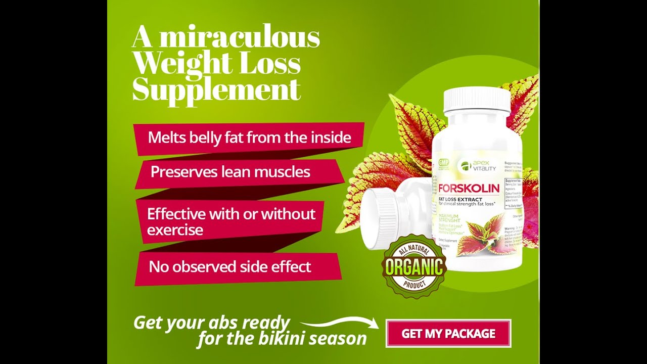 Forskolin Is A Highly Effective And Safe Weight Loss ...