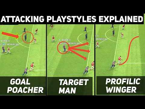 All Attacking Playstyles Explained with Gameplay | PES 2019