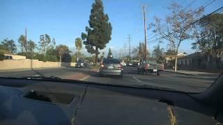 A Quick Drive Down Edinger Ave., Santa Ana, CA