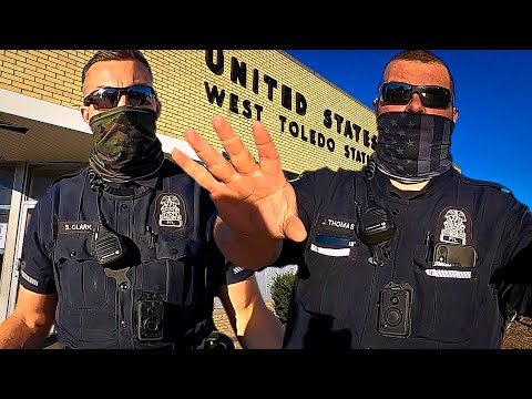 ARREST ME I DARE YOU! COPS OWNED!! First Amendment Audit - Freedom News Now