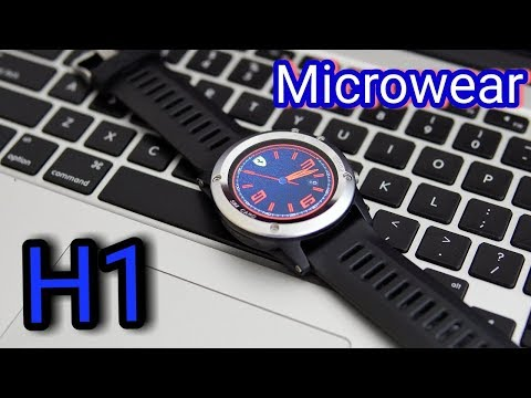 Cool Android Smartwatch with GPS - Microwear H1 Watch Review
