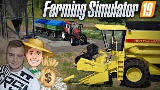 Witam na mojej farmie! ✔  [ FS 19 #1 ] Zakup terenu, Budowa silosu & Pierwsze maszyny