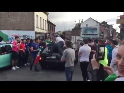 Hooliganisme à Tilleur le 27 juin 2016