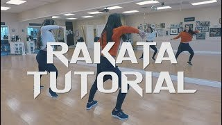 RAKATA DANCE TUTORIAL - (STEF WILLIAMS REGGAETON CLASS)