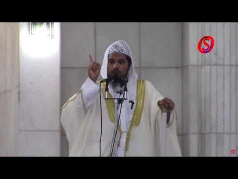 Maulana Abdul Aleem Nadvi lead Eid Ul Fitr prayer at Jamia masjid, Bhatkal