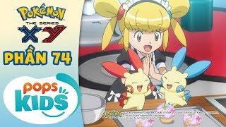 Tổng Hợp Hành Trình Thu Phục Pokémon Của Satoshi - Hoạt Hình Pokémon Tiếng Việt S18 XY - Phần 74