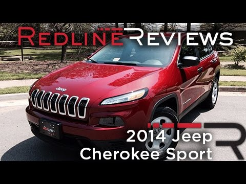 2014 Jeep Cherokee Sport Review, Walkaround, Exhaust, & Test Drive