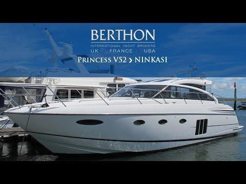 Princess V52 (NINKASI) Walkthrough - Yacht for Sale - Berthon International Yacht Brokers