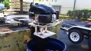 How to Make a Mud Motor/Air Cooled Outboard