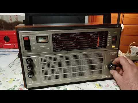 Радиоприемник Океан ( Селена) Радиохулиганы  80м ч1