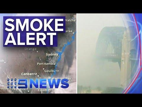 Sydney Smoke: Air Quality Now 'hazardous' | Nine News Australia