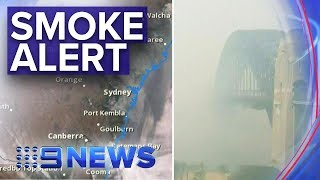 Sydney Smoke: Air Quality Now 'hazardous' | Nine News Australia