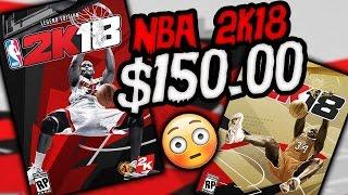 NBA 2K18 SHAQ COVER COST $150.00 WTF!!!!!!