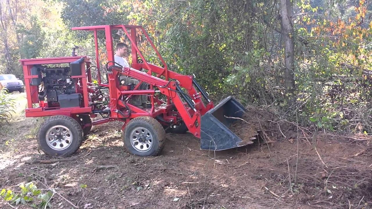 Tractor Boom Pole Design : Homemade tractor loader attachments car interior design