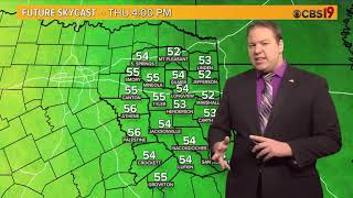 Tyler Paper - CBS 19 Morning Weather Update For November 14th, 2018